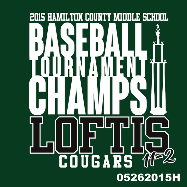 Loftis Baseball Champs
