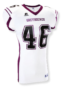 russell football uniforms