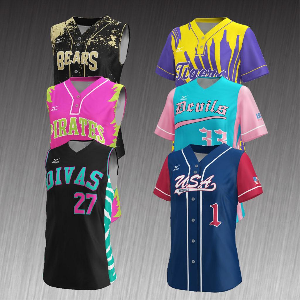 Softball Team Uniforms & Equipment - The Athletic Shop